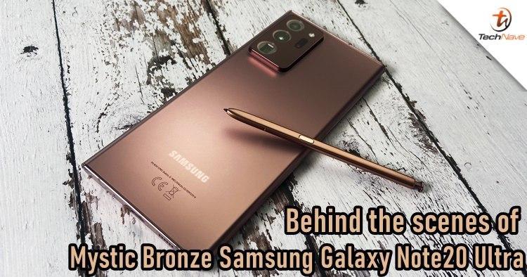 神秘青铜三星Galaxy Note20 Ultra的幕后花絮