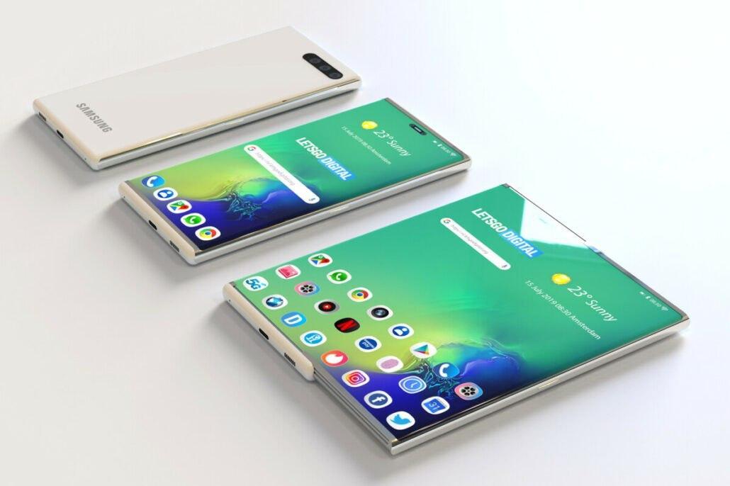 三星首款可折叠智能手机传言将于2021年面世