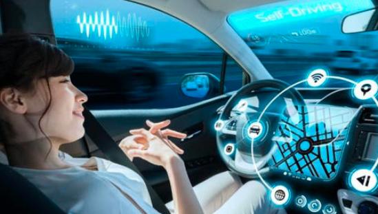 无人驾驶汽车的UX换挡装置