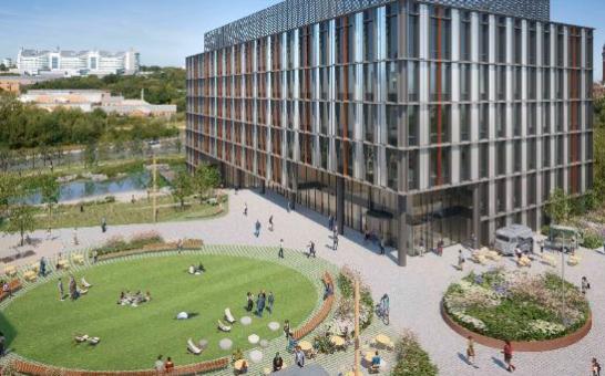 Bruntwood SciTech获得2.305亿欧元的伯明翰健康创新园区