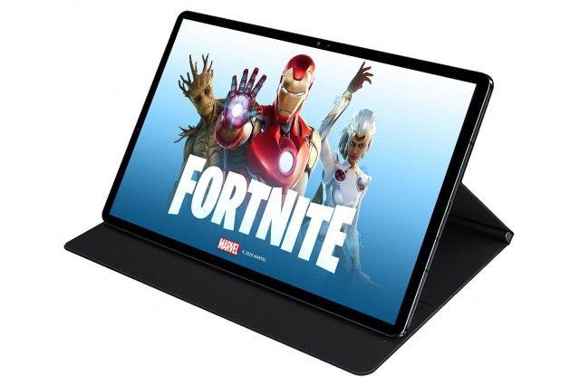 Fortnite可以在三星的Galaxy Tab S7上以90FPS的速度运行