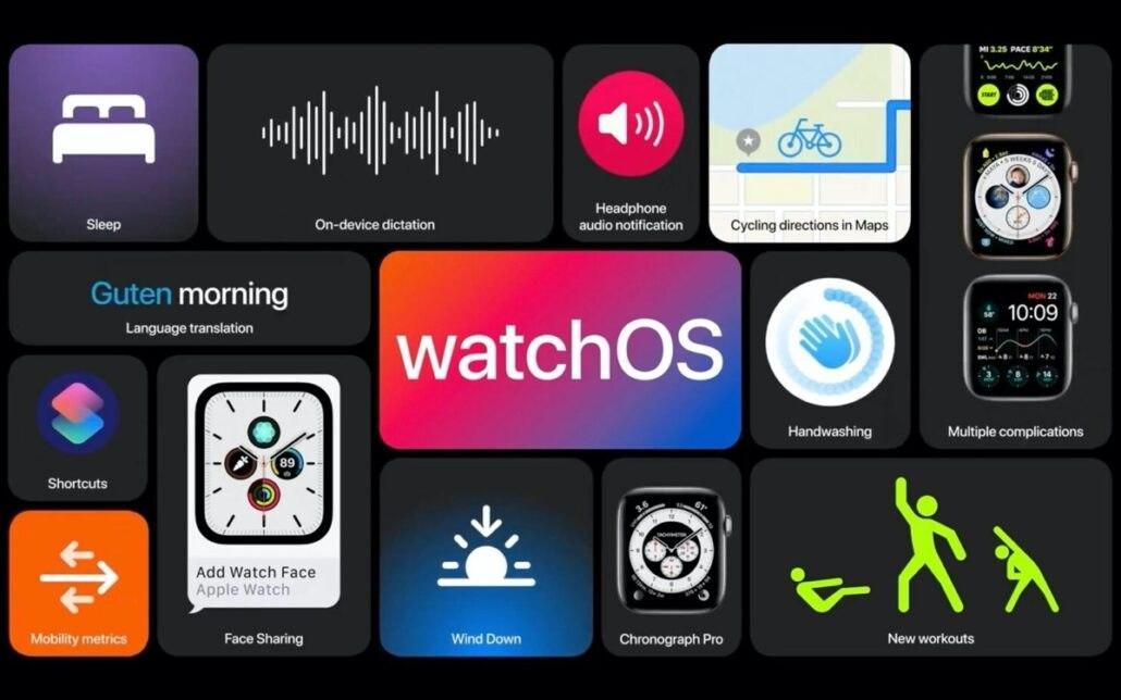 Apple推出了带有电池耗尽和ECG修复功能的watchOS 7.0.2