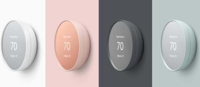 Google Nest推出价格合理的新型智能恒温器
