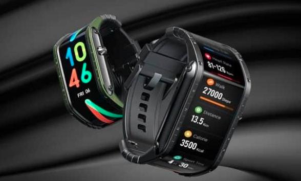 努比亚:曲面屏幕智能手表Nubia Watch