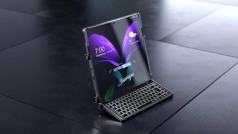 三星Display设计专利揭示了三星可能的第三种可折叠外形