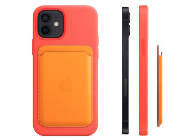 苹果推出MagSafe无线充电配件