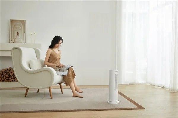 小米优品推出MIJIA立式房间加热器,配备红外传感器