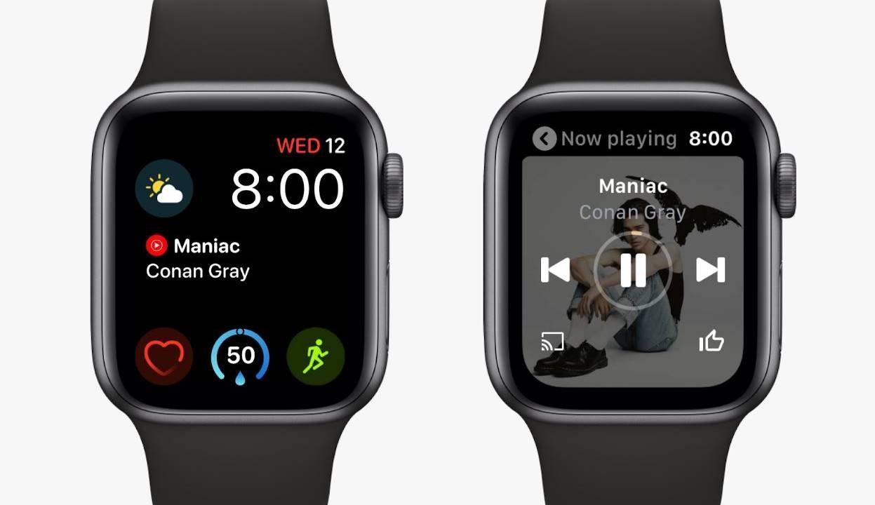 YouTube音乐登陆Apple Watch