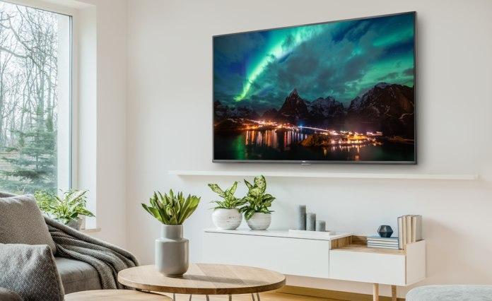 在美国推出的TCL 4类4K系列Android电视;有5种尺寸