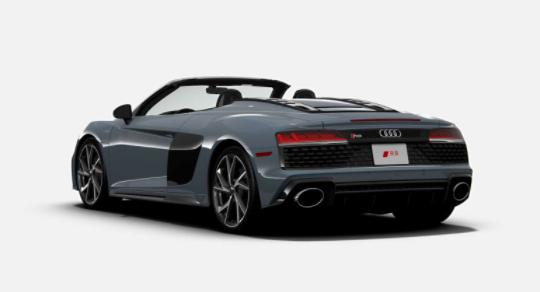 2021年奥迪R8 RWD在美国上市,售价比性能Quattro少5.4万美元