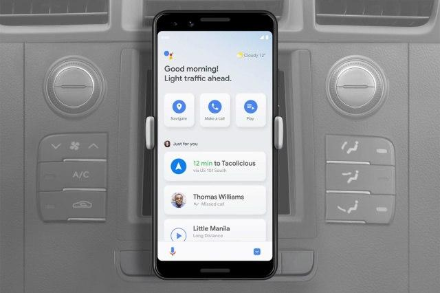 Google Assistant的Android驾驶模式已接近准备就绪