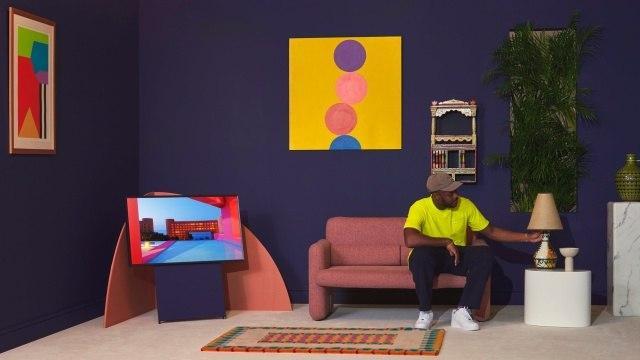 三星提供实际的油漆以补充其艺术性的QLED电视