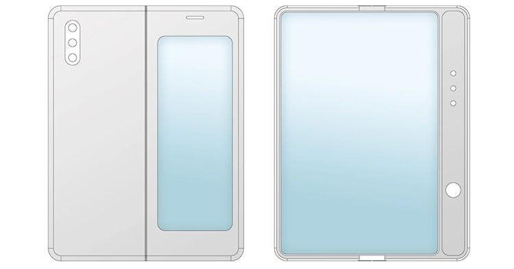 小米最新的可折叠智能手机设计类似于三星的第一代Galaxy Fold