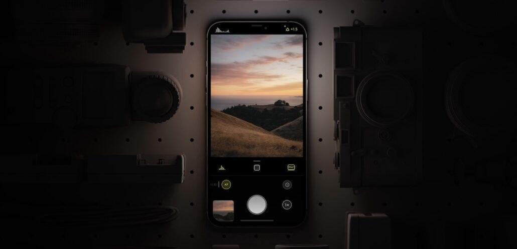 卤化物马克2号通过爬上一段楼梯来制作iPhone摄影
