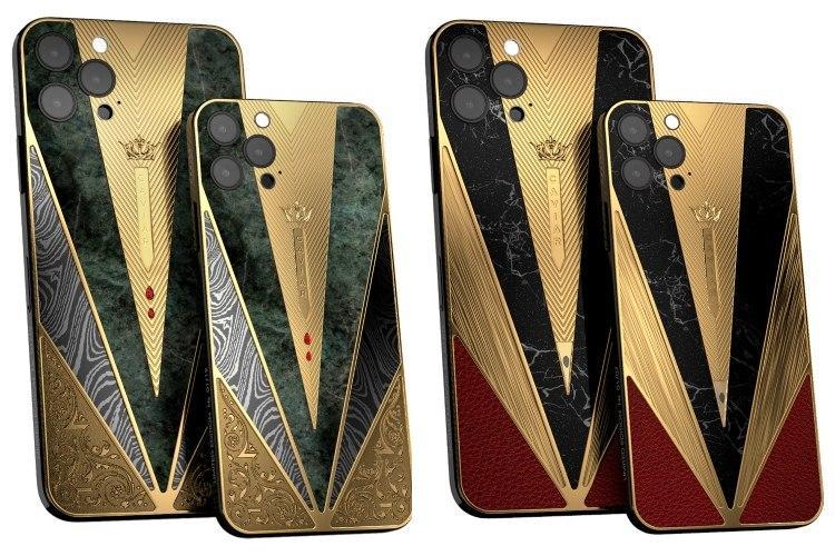 """鱼子酱为新款苹果iPhone 12系列发布了超贵的""""战士系列"""""""