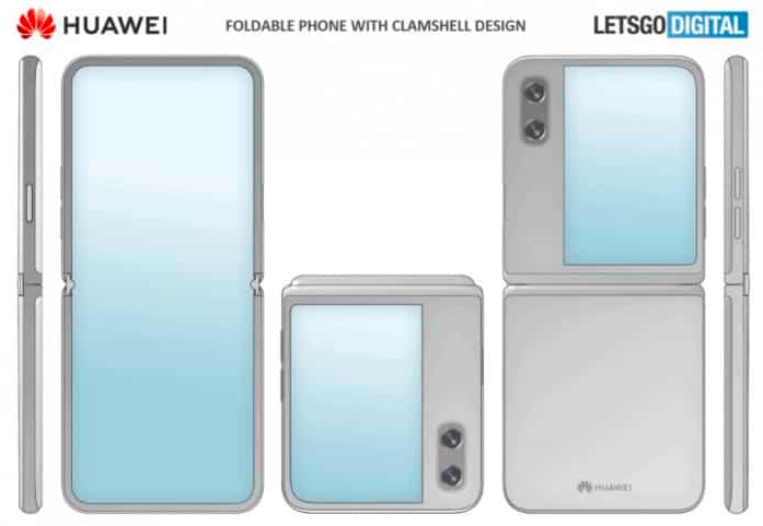 华为正在评估不同的可折叠手机设计