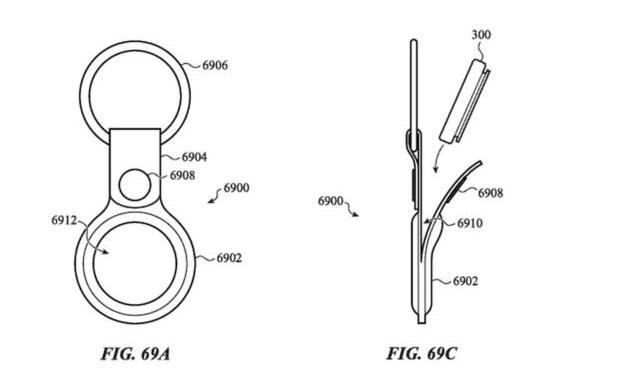 苹果的AirTag设备专利显示了一些功能用途