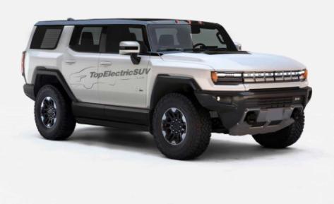 渲染的GMC悍马SUV应该具有可移动的车顶板