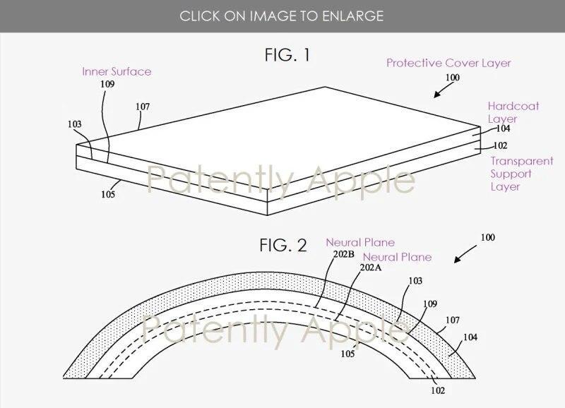 苹果研究可折叠设备的耐用抗裂显示屏