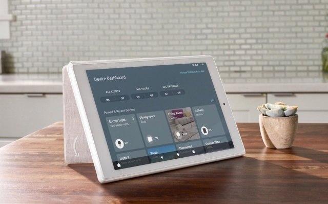 亚马逊在某些Fire平板电脑上启用了智能家居设备仪表板