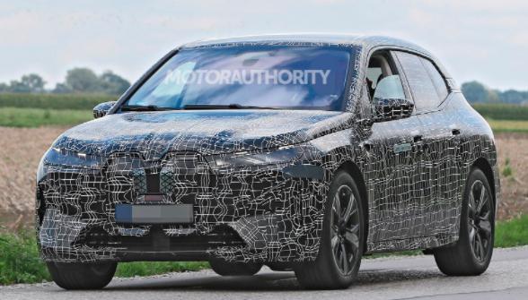 宝马BMW iNext电动SUV将于11月11日发布