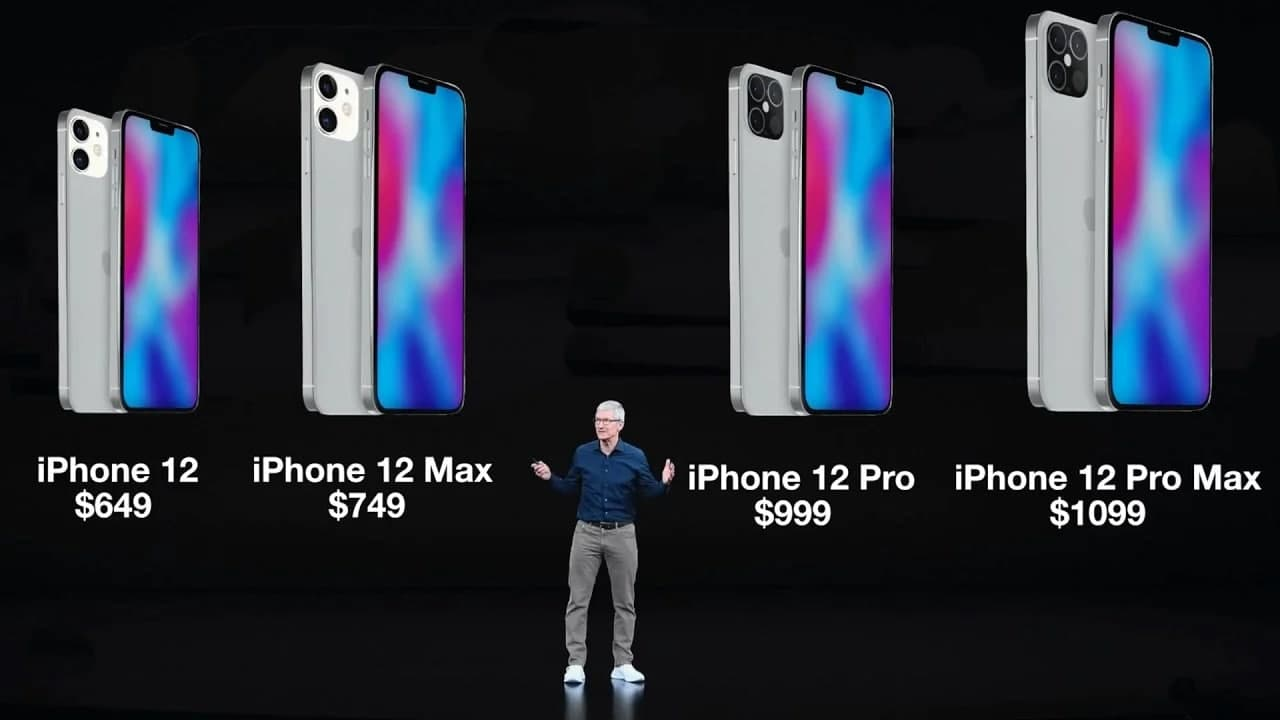 苹果iPhone 12与12 Pro与12 Mini和12 Pro Max:规格比较