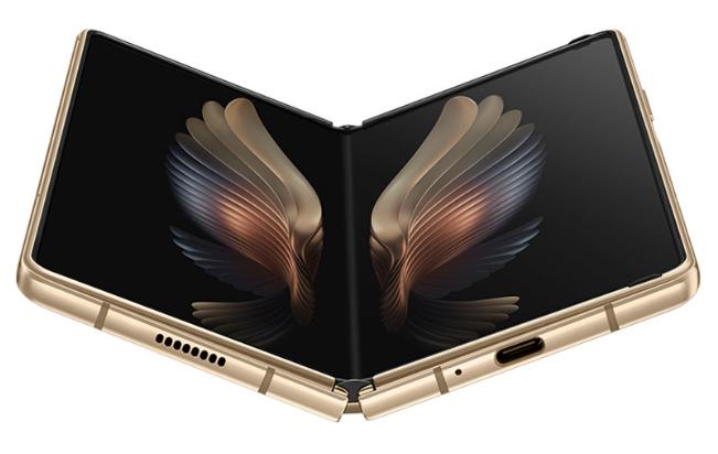 三星已在中国正式推出W21 5G可折叠手机