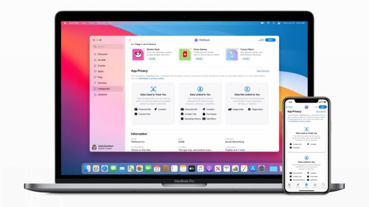 """苹果现在接受未来App Store隐私""""标签""""的详细信息"""