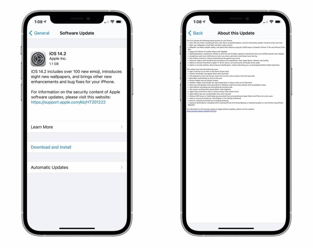 Apple iOS 14.2发布,而且功能强大–这就是您iPhone的功能