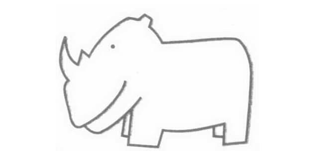 qq画红包犀牛怎么画_QQ红包犀牛画法图文一览