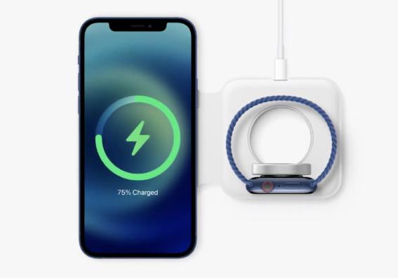 苹果无线充电器MagSafe Duo被曝光