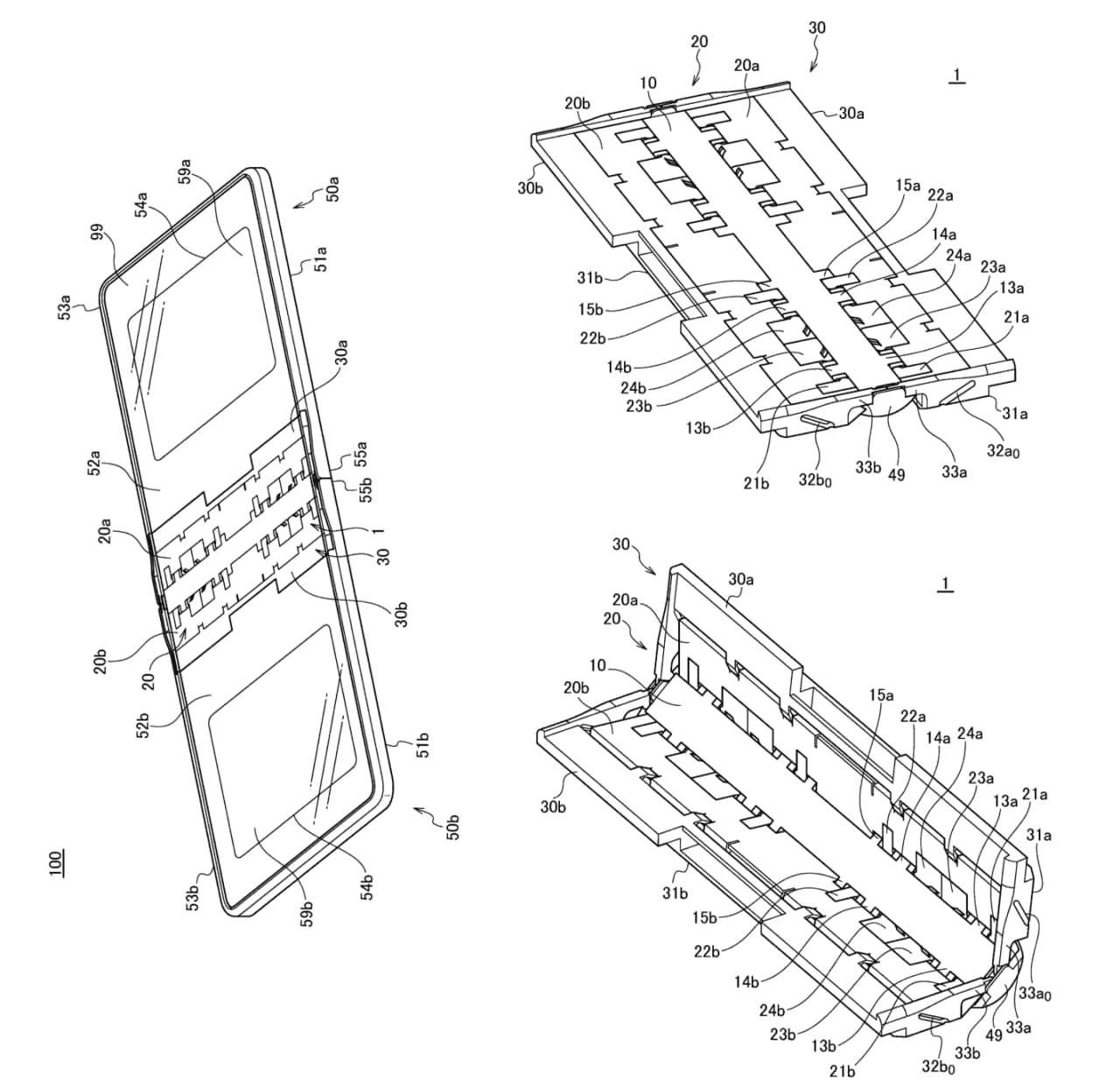 华为的这种铰链设计可以避免可折叠智能手机上的折痕