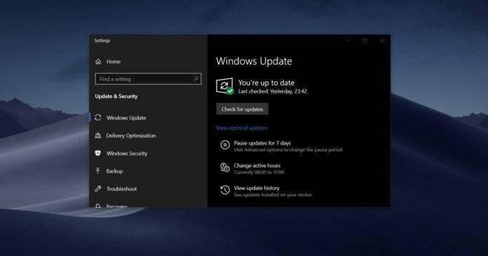 微软明确今年不会更新Windows 10:从12月3日开始