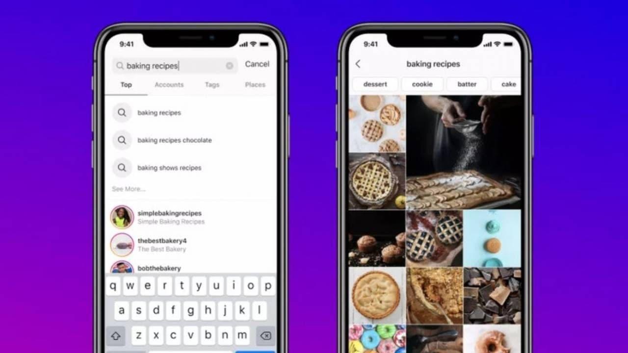 Instagram终于添加了使用关键字进行搜索的功能