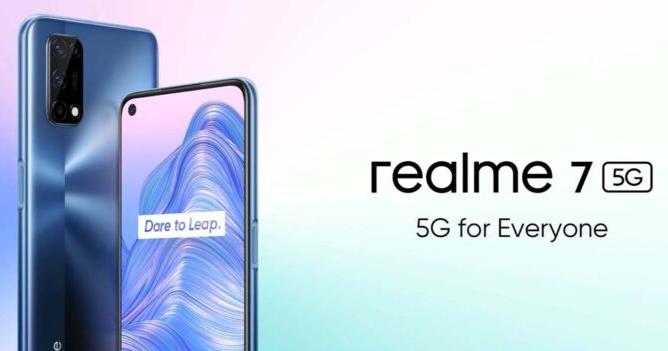 Realme 7 5G推出了!这是功能和价格
