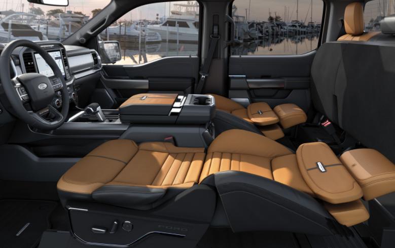 福特的新座椅使车主可以舒适地小睡