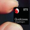 高通Snapdragon 875在安兔兔中测试得分74万