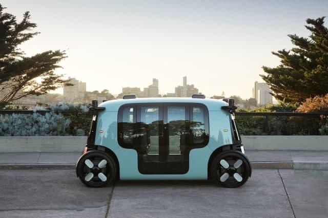 亚马逊的Zoox展示了其首款自主机器人
