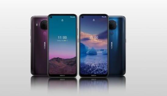 HMD Global推出了最新的智能手机诺基亚5.4