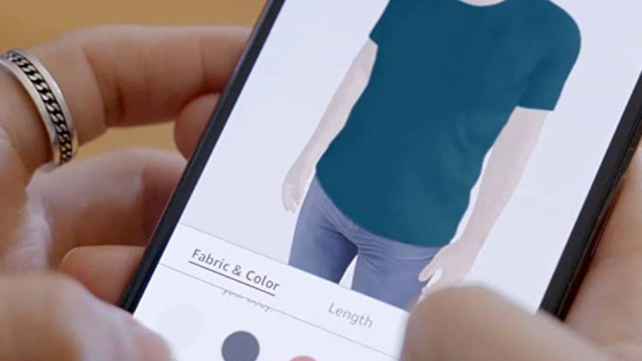 亚马逊Made for You工具为每个用户提供量身定制的衬衫