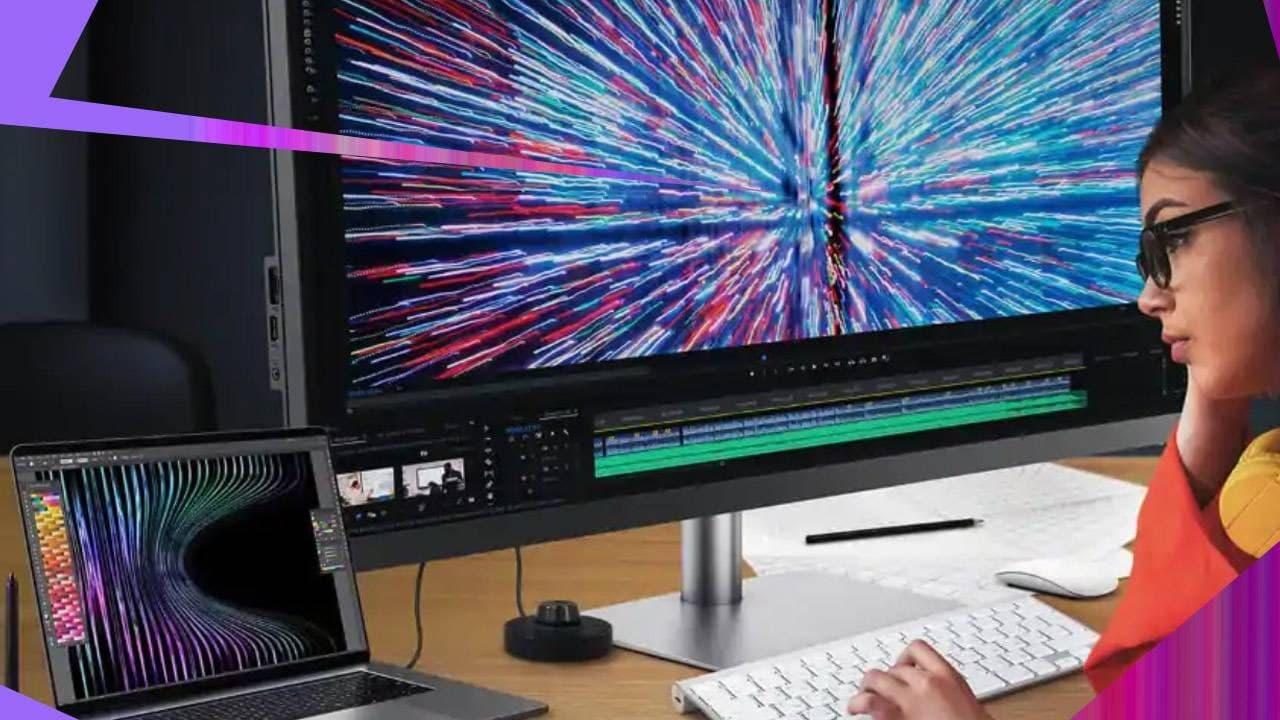 明基超宽屏IPS LED显示器适合设计师和新Mac