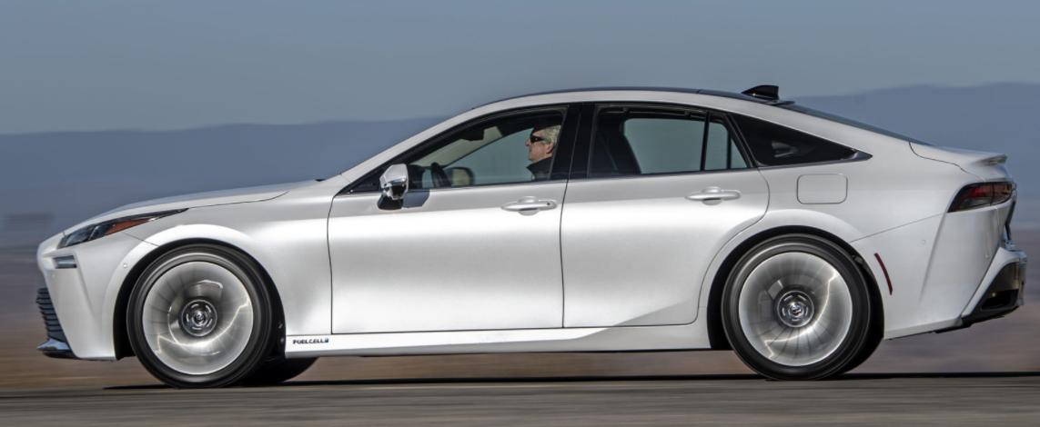 2021年丰田Mirai带来更低的燃料电池轿车价格