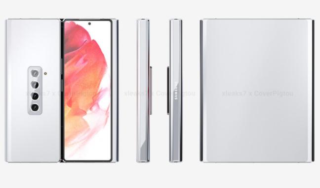 三星Galaxy Z Fold 3的不同设计在新曝光照片中