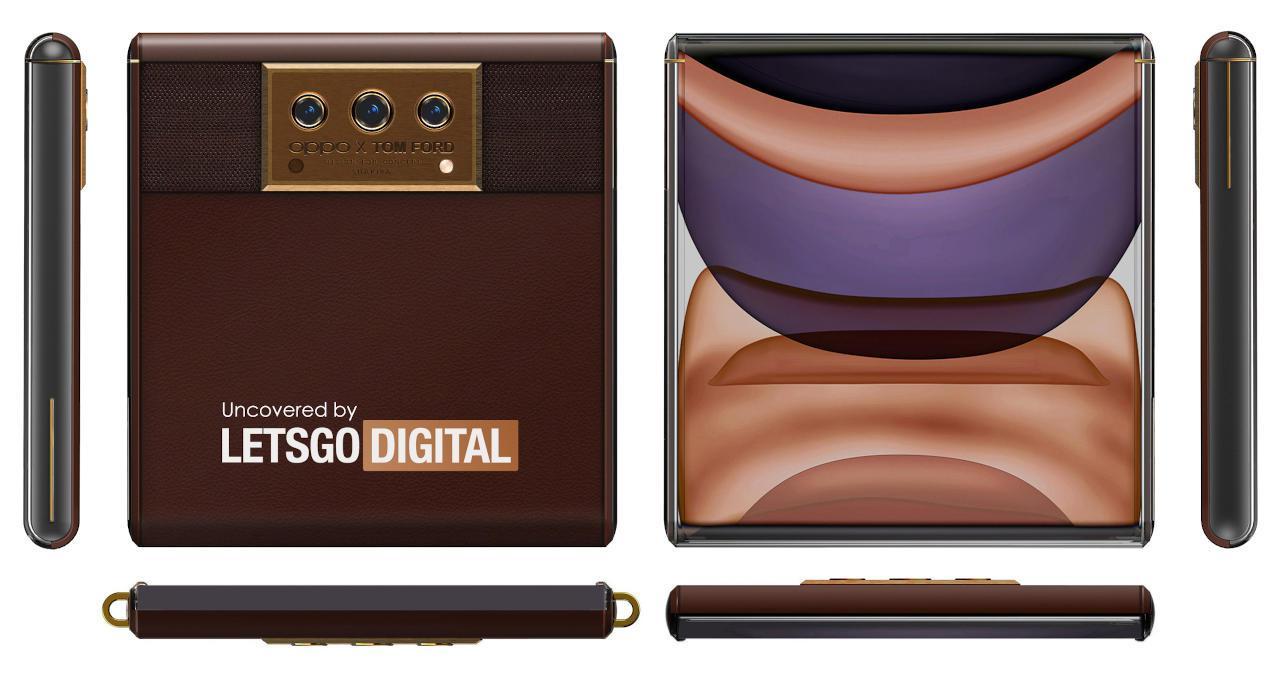 OPPO X Tom Ford可能是可滚动的屏幕滑盖手机