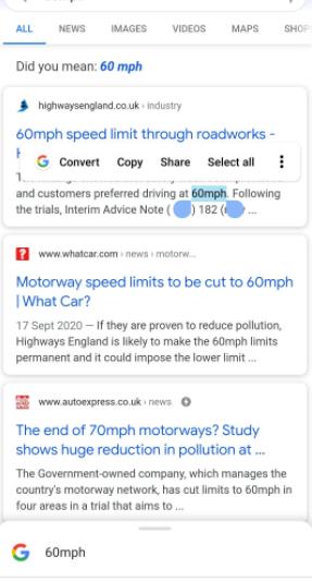 Google更新了Android Smart Selection功能