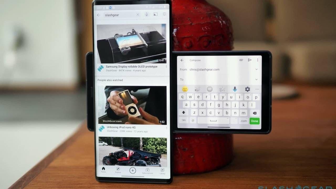 威瑞森LG Wing更新带来新的秒屏功能