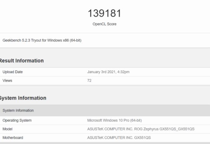 英伟达GeForce RTX 3080性能测试公布