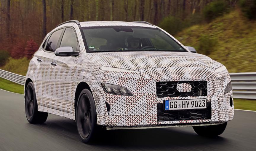 现代汽车发布关于Kona N Performance SUV的首批细节