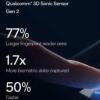 高通公司的新型超声波指纹读取器将速度提高了50%