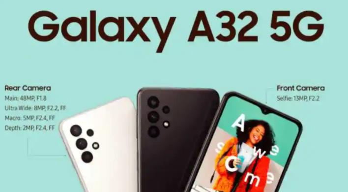 三星发布了迄今为止最便宜的5G手机Galaxy A32 5G